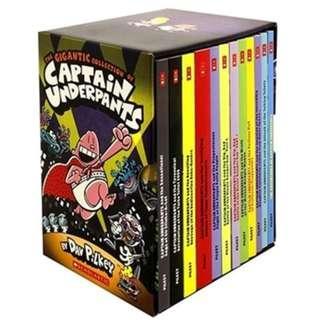 🚚 Captain Underpants 12 Books Set Collection
