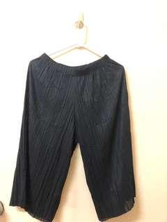 Black Flowy Square Pants from BKK