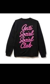 Auth Anti Social Social Club Sweater