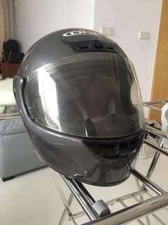 Used OGK flip-up helmet
