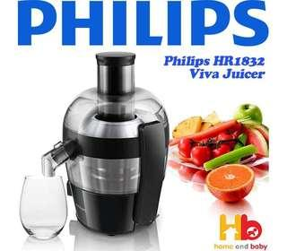 Philips Viva Collection Juicer HR1832/00 (Brand New)