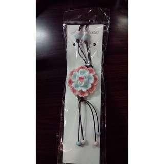 🚚 花卉陶瓷項鍊