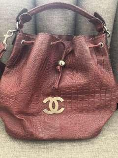 Chanel Bag Croco with long strip
