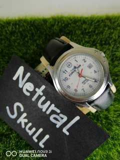 TIMEX EXPEDITION INDIGLO ANALOG WITH DATE MILITARY STYLE