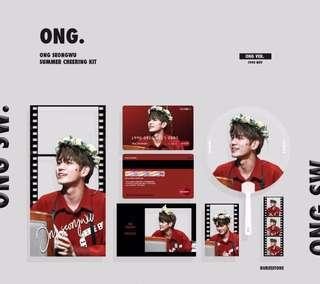 ONG SEONG WU SUMMER CHEERING KIT