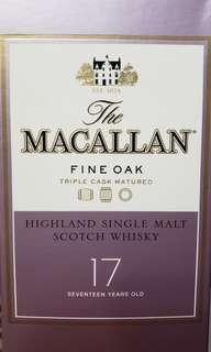 Macallan Fine Oak 17 yrs 700ml