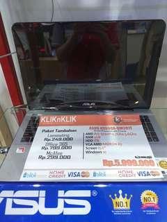 Kredit laptop asus X555QA tanpa kartu kredit