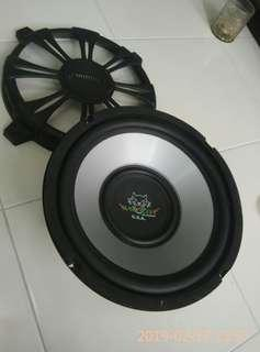 Woofer speaker 10inci  wildcat Audio  USA