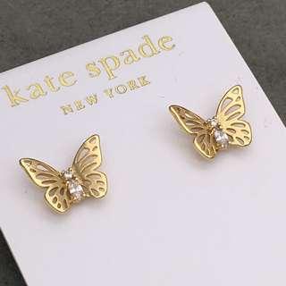 Kate Spade New York Sample Earrings 金色蝴蝶結閃石耳環 EA274