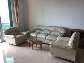 Sofa 3+1+1+cushion