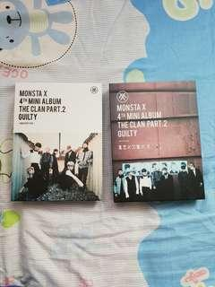 [INSTOCK] Monsta X The Clan Pt 2 Unsealed Album