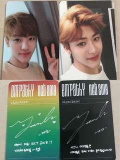 [WTS] NCT Jaemin EMPATHY Official Photocards