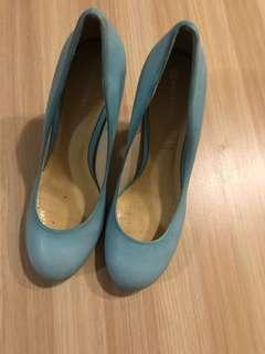 Rockport Heels Light Blue