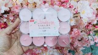 🚚 日本🌸櫻花季限定香香蠟燭