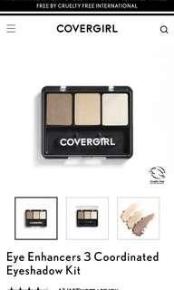 Covergirl Eyeshadow 3 shades