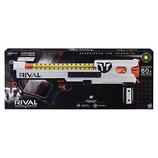 BN Nerf Rival Phantom Corps Hades MXVIII-6000 White Color Spring Type Blaster with 60 high impact rounds Hasbro TRU