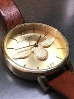 Olivia Burton 英倫風花卉腕錶首飾