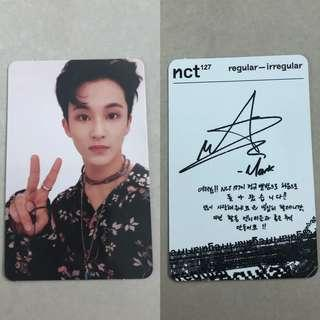 [WTS] NCT Mark REGULAR Official Photocards