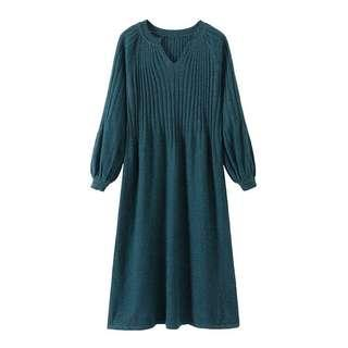 Comfortable long knitted Dress