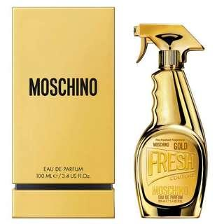 Moschino gold parfum