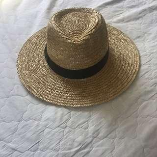 LACK OF COLOR 57cm straw hat
