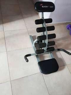 Black Power exerciser