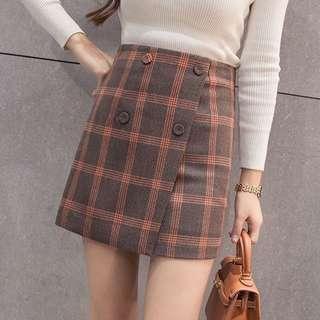 🚚 [PREORDER] Korean Plaid Skirt
