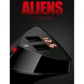 Remax alien charger 2 port 3,4 A
