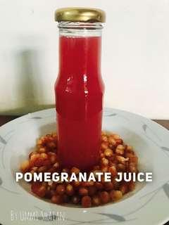 100% Pure Cold Pressed Pomegranate Juice FREE DELIVERY