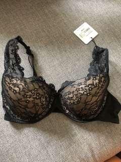 Black Lace Pleasure State Bra 12C
