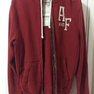 Mens Abercrombie & Fitch zip up hoodie