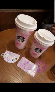 日本帶回 Starbucks 星巴克櫻花卡 2019