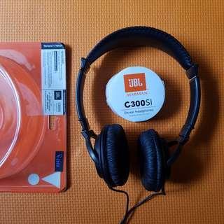 JBL Headphone Black C300SI