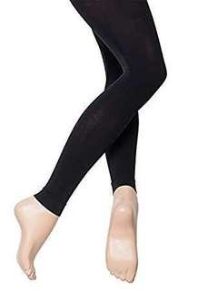 2100997d7cc DARK BEIGE BALLET DANCE TIGHTS (until ankle)