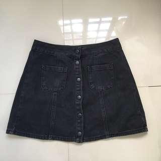 MELVILLE Maong Skirt