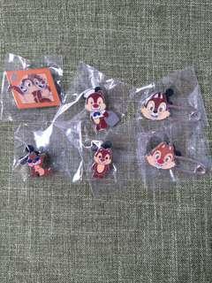 Chip Dale - 迪士尼襟章disney pin