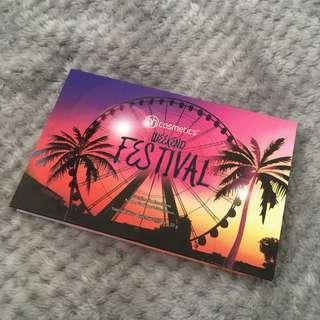 BH Cosmetics Weekend Festival Palette