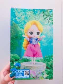 迪士尼長髮公主大眼娃娃