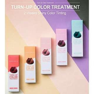 April Skin Turn up colour treatment hair dye