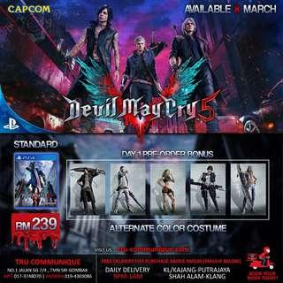 PREORDER - DEVIL MAY CRY 5