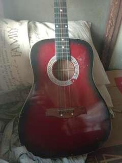 Bts guitar with merch