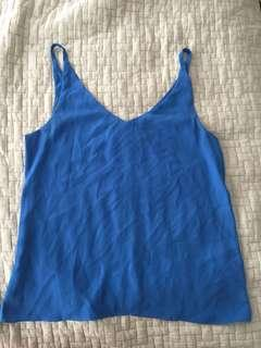 blue sportsgirl cami