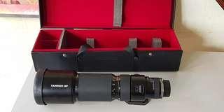 Tamron SP 200-500mm f5.6 Lens