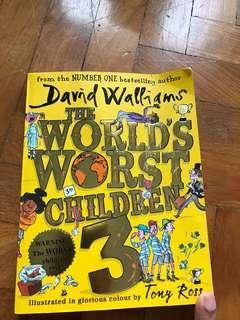 The world's worst children 3 David Walliams