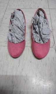 H&m粉紅色平底鞋