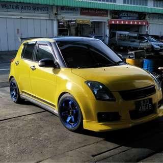 Suzuki Swift sport rent