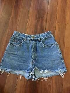 R.M. Williams Highwaist Denim Shorts