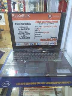 Kredit Laptop Lenovo Ideapad 330-14IKB tanpa kartu kredit