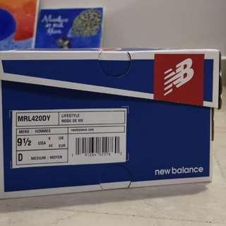 (Discount) (New in Box) New Balance HRL710GR Shoes (US 9.5)