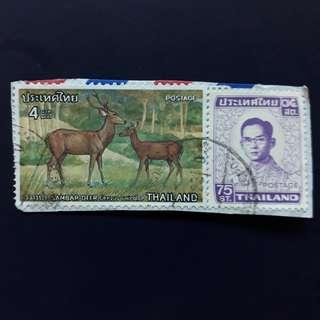 THSTM. 1976-12-26, 1972-04-28 Thailand Stamps.